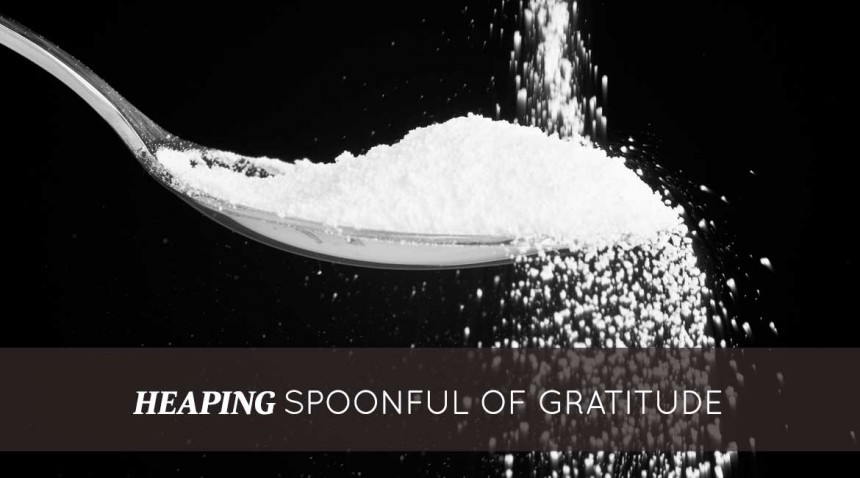 Heaping Spoonful of Gratitude